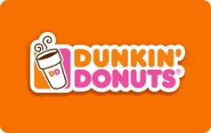 $10 Dunkin Donuts Gift Card