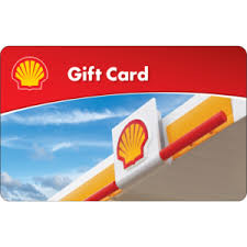 $25 Shell Gas Gift Card